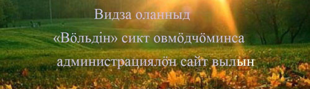 """Администрация сельского поселения """"Вольдино"""""""